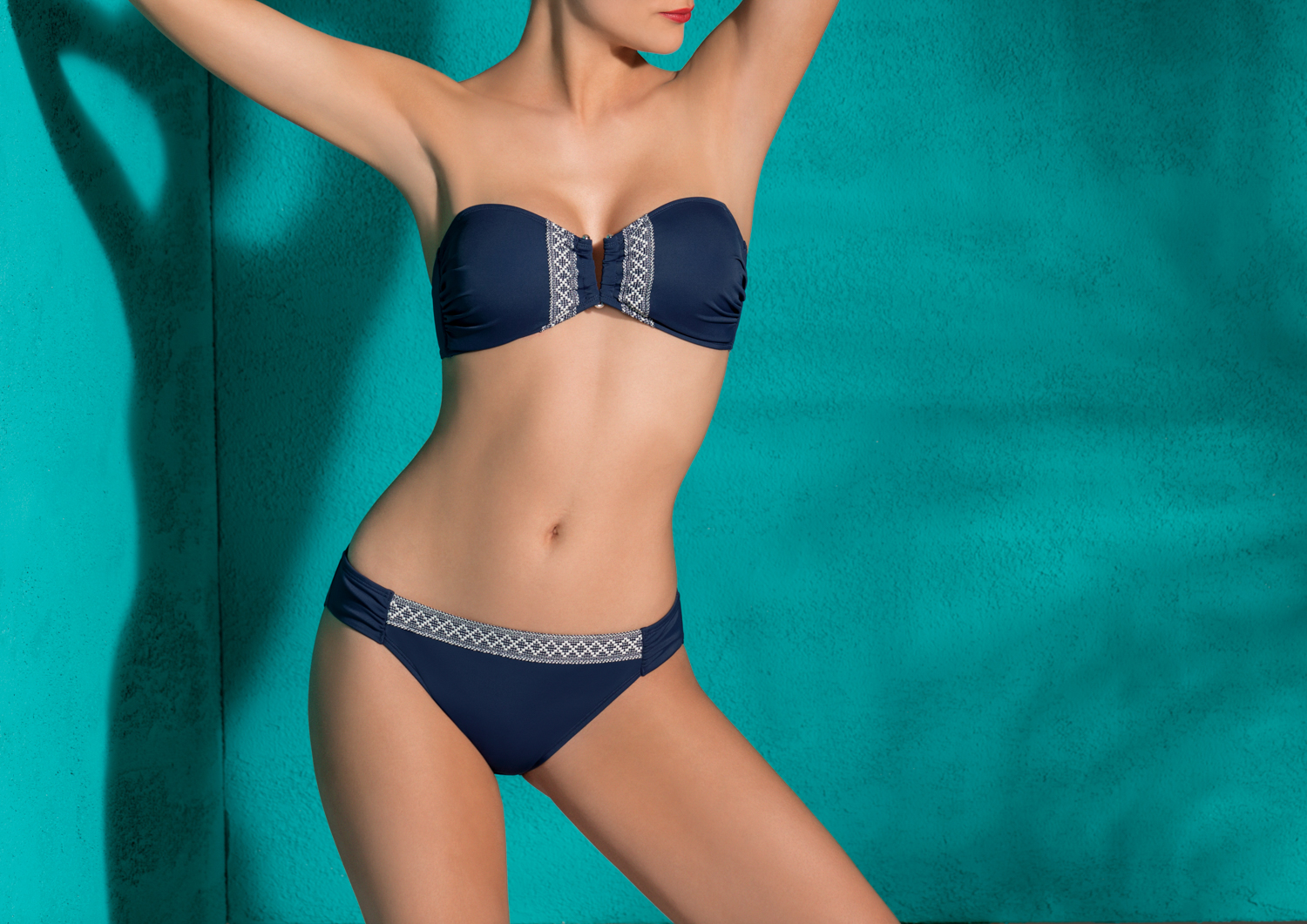 Dorina Aqua - BELIZE - Soft Bandeau & Brief